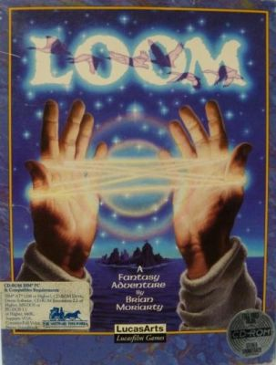 loom pc cd-rom box front cover